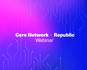 CERE Network x Republic AMA