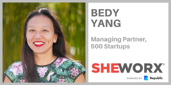 SheWorx SF Breakfast Roundtable: Bedy Yang, Managing Partner, 500 Startups