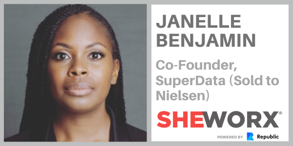 Exited Founder Janelle Benjamin - SheWorx Female Founder Series #5