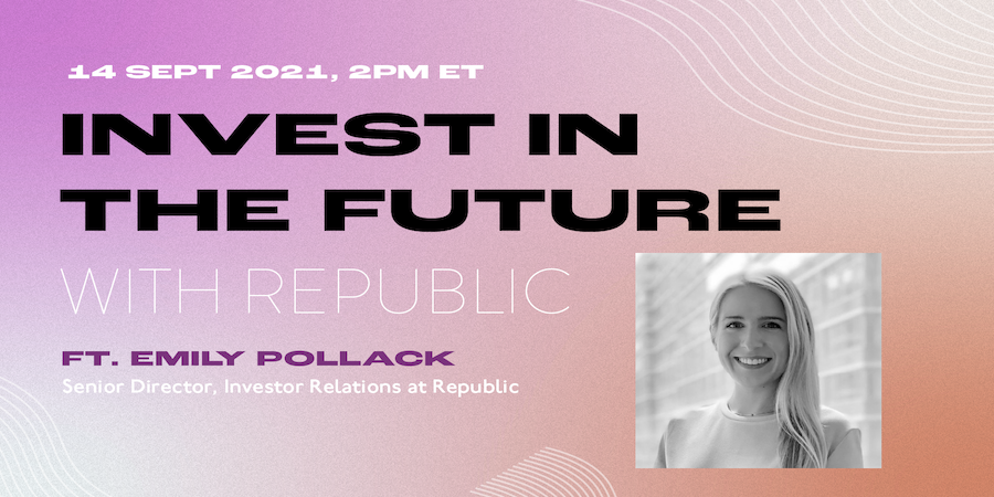 Invest in the Future with Republic