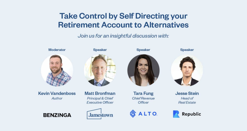 Take Control by Self-Directing your Retirement Account