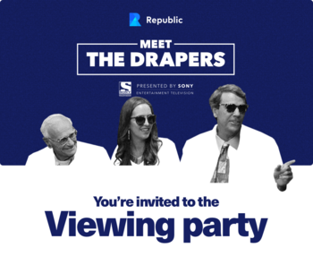 Meet the Drapers TV Show Premiere Viewing Party