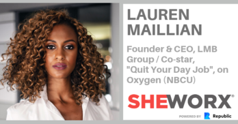 SheWorx NYC Breakfast Roundtable: Lauren Maillian, Founder & CEO LMB Group