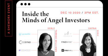 SheWorx Virtual Roundtable: Inside the Minds of Angel Investors