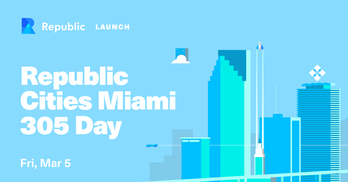 Republic Cities Miami Launch: Celebrating 305 Day
