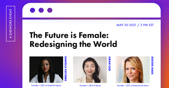 The Future is Female: Redesigning the World
