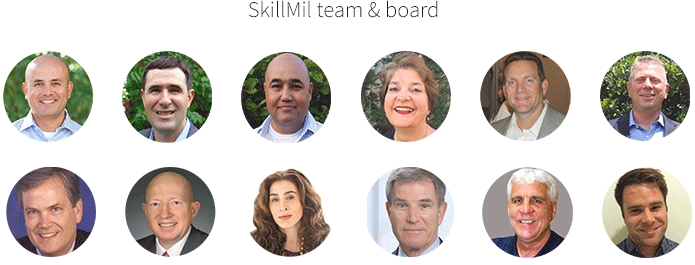 SkillMil team and board