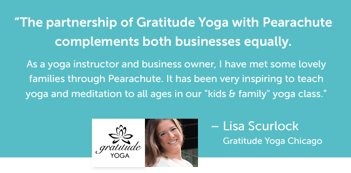 Lisa Scurlock's quote about Pearachute