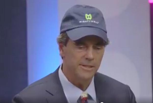 Tim Draper Rocks His Mighty Well Hat