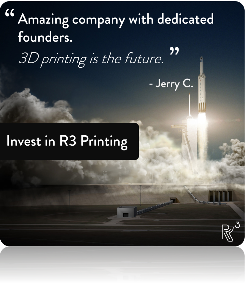 R3 Printing Social Media Content - Investor Quotes (Example)