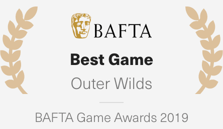 Best Game - Outer Wilds (BAFTA Game Awards 2019)