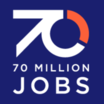Logo of 70 Million Jobs
